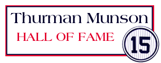 Thurman Munson Hall of Fame